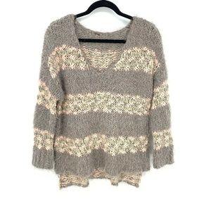Free People Eyelash Knit Pullover Sweater